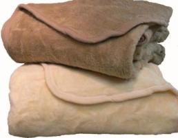 RI Solid Color Zero Waste Blanket made exclusively for Kellsson Home Linens