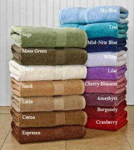Growers Supima Cotton Towels by CalCot