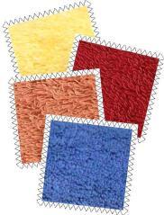 All American Towels - Sunflower Yellow, Pomegranate Red, Papaya, Morning Glory Blue