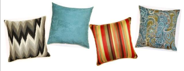 Glamour Throw Pillows