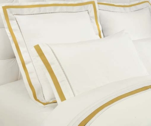 Chelsea Sheet Sets in Gold/Ivory by DownTown Company